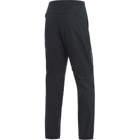 GORE WEAR R3 Windstopper Zip-Off Pants Men black